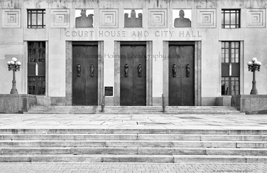 972/ Nashville TN court house and city hall enterance