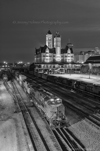 983/ B&W union station nashville